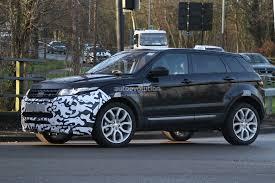 land rover diesel engine 2016 range rover evoque mid life facelift spied ingenium diesel