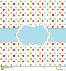 polka dot design stock vector image of abstract drawing 15116005