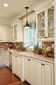 glass insert ideas for kitchen cabinets creative kitchen cabinet ideas southern living
