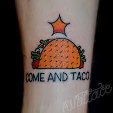 acdc tattoo 19 badass taco tattoos the taco cleanse