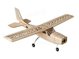 cessna 960mm wingspan balsa wood rc airplane kit sale banggood