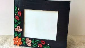 how to create a simple quilled photo frame diy crafts tutorial