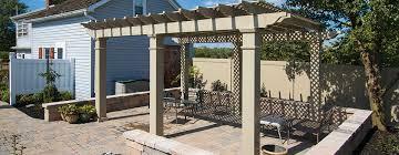 vinyl fence u0026 railing azek decking u0026 flooring kidron vinyl