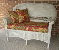 furniture interesting wicker loveseat for your furniture design