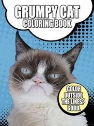 grumpy cat coloring book dover coloring books children