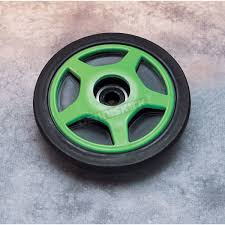 parts unlimited rear green idler wheel w bearing 0420010