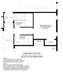 royal cypress preserve the madeira fl home design optional 6th bedroom floor plan