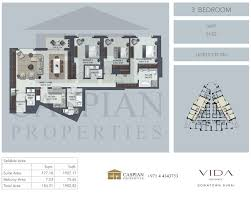 vida residence downtown floor plans