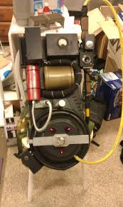 spirit halloween ghostbusters proton pack rgb style pack and thrower costume fun pinterest