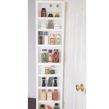 Behind Bathroom Door Storage Storage And Organization At Brookstone Shop Now