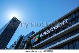 microsoft siege social siège social de microsoft logo icône bâtiment banque d images photo