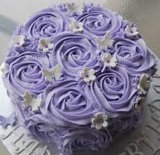 Lavender Rose Cake Simplysweetsbyhoneybee Com