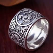 vintage rings aliexpress images Buy sterling silver 925 ring men vintage men jpg