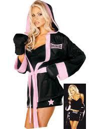 4x Costumes Halloween Womens Boxer Costume Costumelook