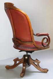 Antique Wooden Office Chair Antique Oak Swivel Desk Chair Antiques Atlas