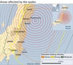 earthquake tsunami hits east