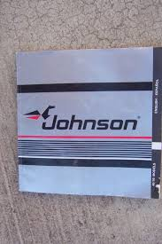 1988 johnson outboard motor 40 50 hp owner operator manual more in