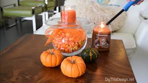 a plastic pumpkin really repurpose what you already have for living room wood slab table with diy halloween decor project glass vase wrapped in orange