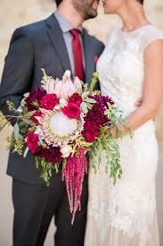 wedding statements floral bouquet statements the protea weddings