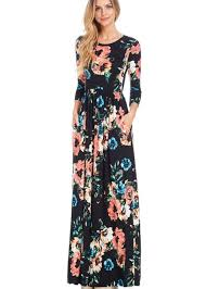 floral dresses black floral maxi dress modli