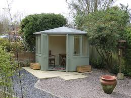 newhaven corner summerhouse with reduced height roof to suit