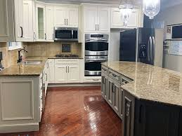 small kitchens with taupe cabinets beautifully refinished cherry cabinets by grande finale