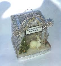 sebnitz rabbit house by betsy browning my antique style sebnitz