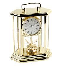 Bulova Valeria Mantel Clock Clock Perfect Anniversary Clock Ideas Anniversary Clock Gift