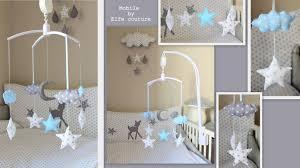 thème chambre bébé deco chambre bebe theme nuage visuel 3