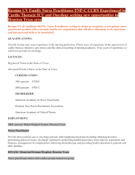 Triage Nurse Resume Sample Nurse Cover Letter For Resume Gallery Cover Letter Ideas