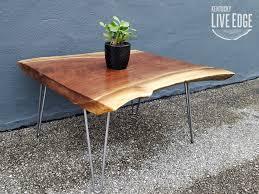 live edge walnut coffee table live edge walnut coffee table square dark wood natural edges
