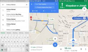 navigation map introduces voice guided turn by turn navigation for pakistan