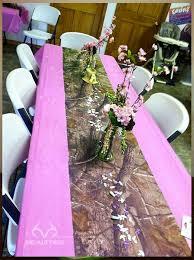 Pink Camo Wedding Decorations 2059