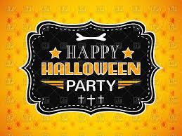 halloween invitation vector u2013 festival collections