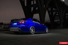 lexus night vossen wheels lexus is vossen cv7