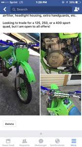 kawasaki kdx 200 parts motorcycles for sale