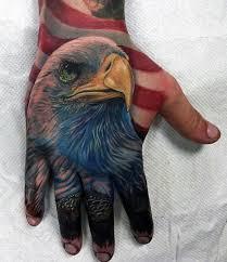 eagle tattoo on finger 75 eagle tattoos for men a soaring flight of designs
