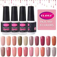 amazon com clavuz nail gel polish pick any 12 colors collection