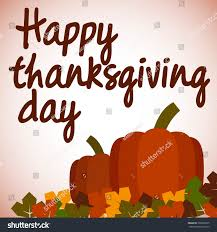 thanksgiving day images pumpkins on dried leaves banner celebration stock vector 339969875