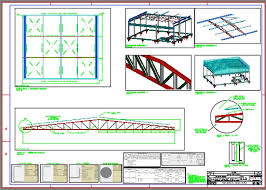Excepcional Projeto Estrutural (Galpão) - Concreto armado com cobertura  &HZ29
