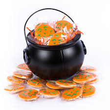 cauldron full for halloween cookies for trick or treaters
