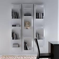 librerie muro libreria componibile a muro fifty di cattelan arredaclick