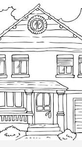 printable house coloring pages timykids