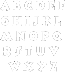 alphabet letters templates 28 images best 25 alphabet
