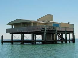 the houses of stiltsville my old florida