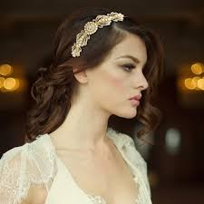 gatsby headband gatsby inspired chic gold pearl headband