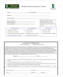 payment agreement contract sample 7 examples in word pdf