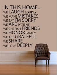 Home Decor Quotes by Quotes For Wall Decor Shenra Com