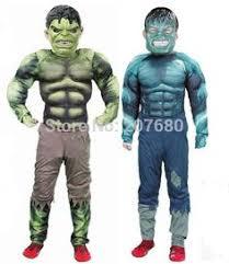 Avengers Halloween Costume Hulk Childrens Fancy Dress Costume Small 104cm Age