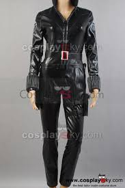 Cloud Strife Halloween Costume Avengers Black Widow Costume Jumpsuit Cosplay Avengers